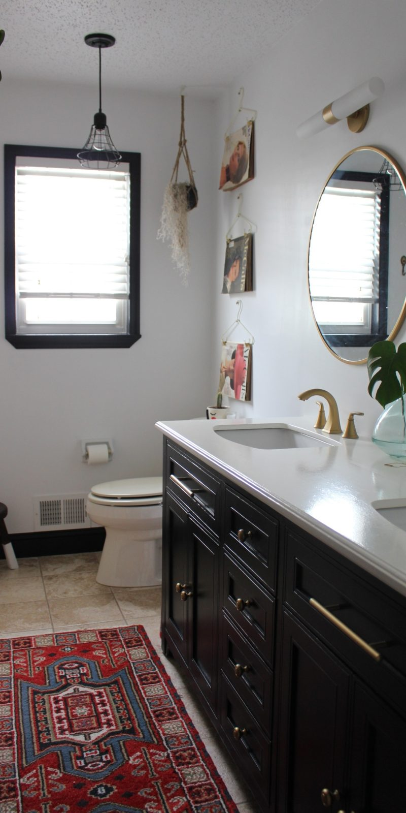 Spruce Up Your Bathroom Without Breaking The Bank Before And After
