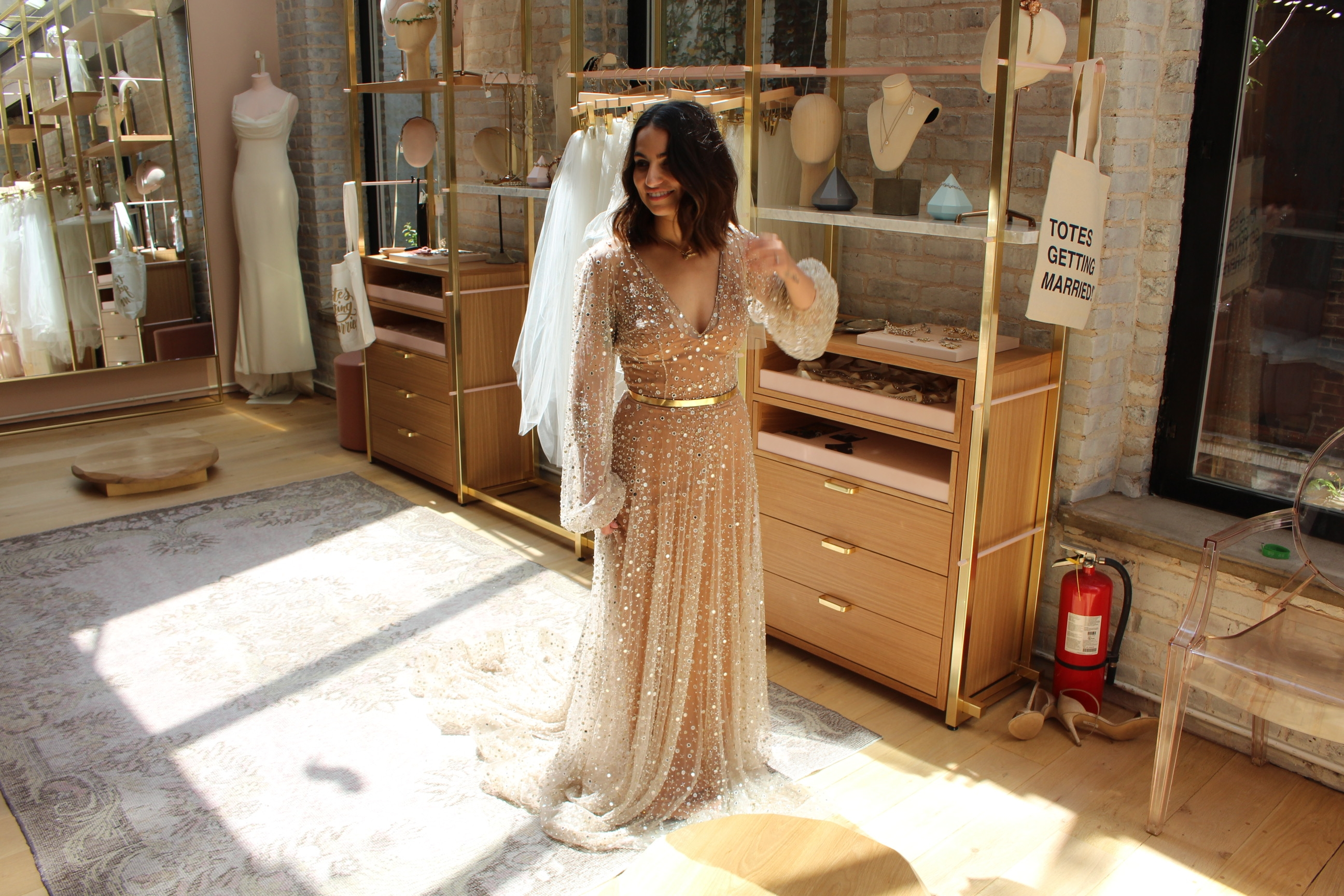 Chosen by One Day glitter wedding dress