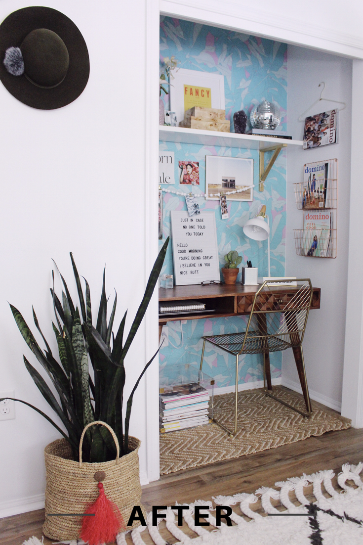 Home Goods Office Nook