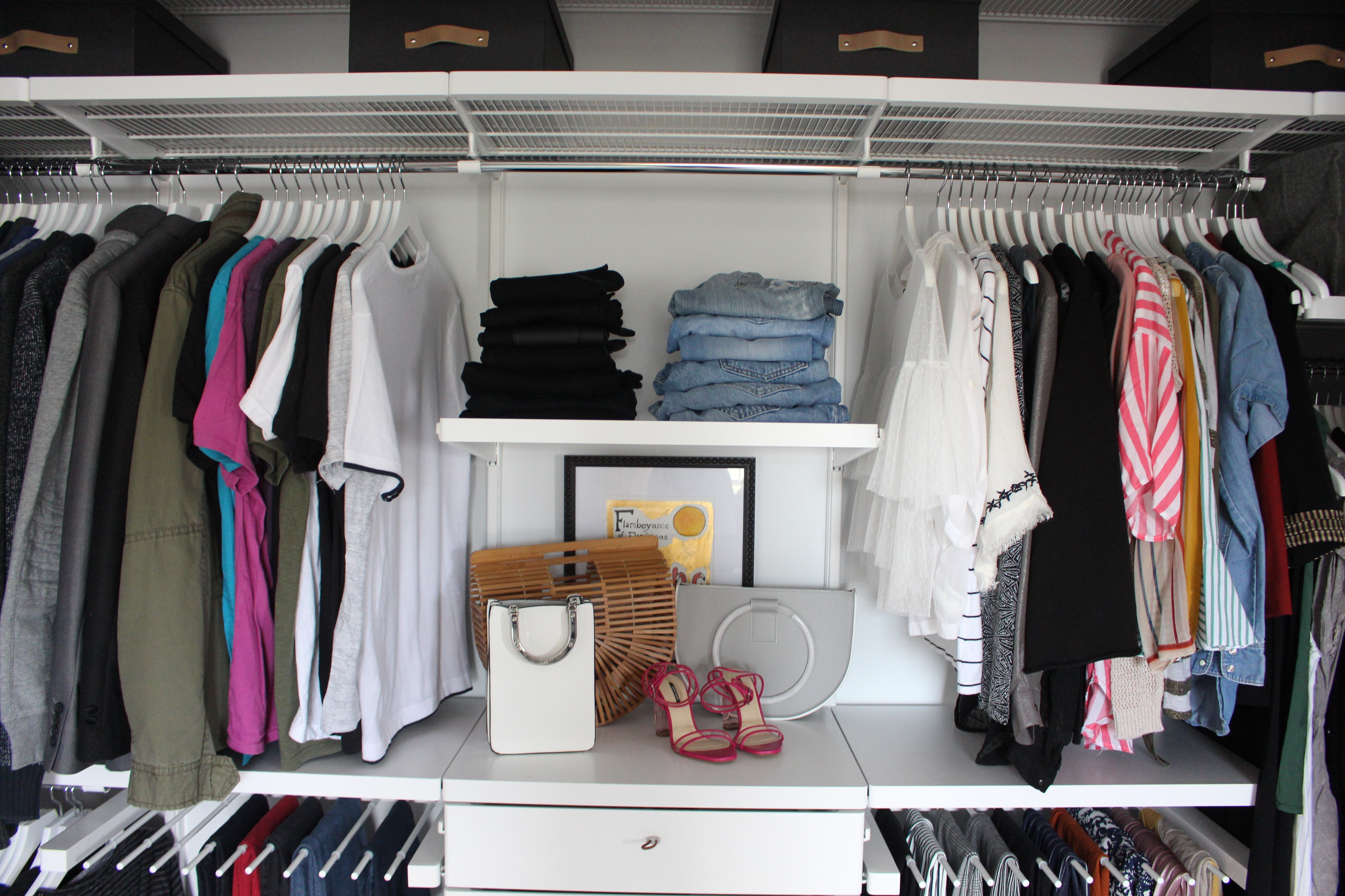 a closet of z your all how clothes to from organize store
