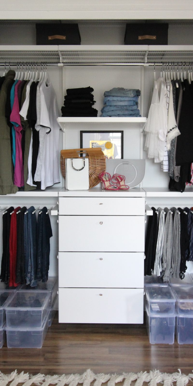 We Just Did A Complete Closet Overhaul And The Container Store Helped Us  Get Super Organized. If Youu0027re Thinking About Redoing Your Closet I Highly  Highly ...