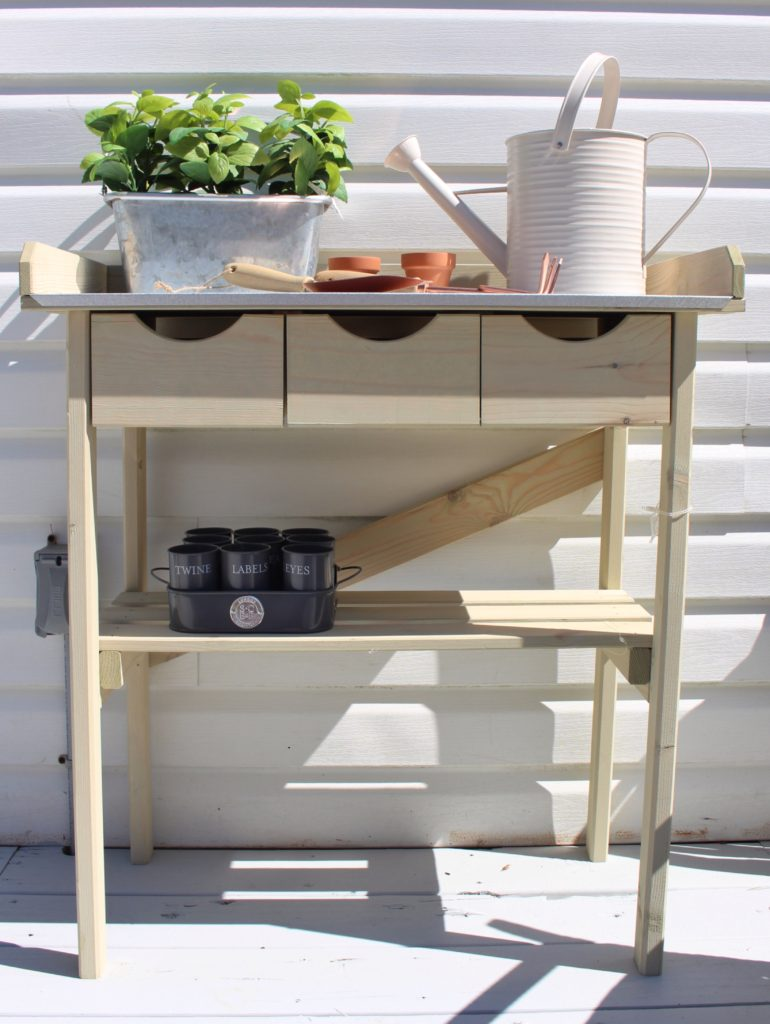 home goods potting bench