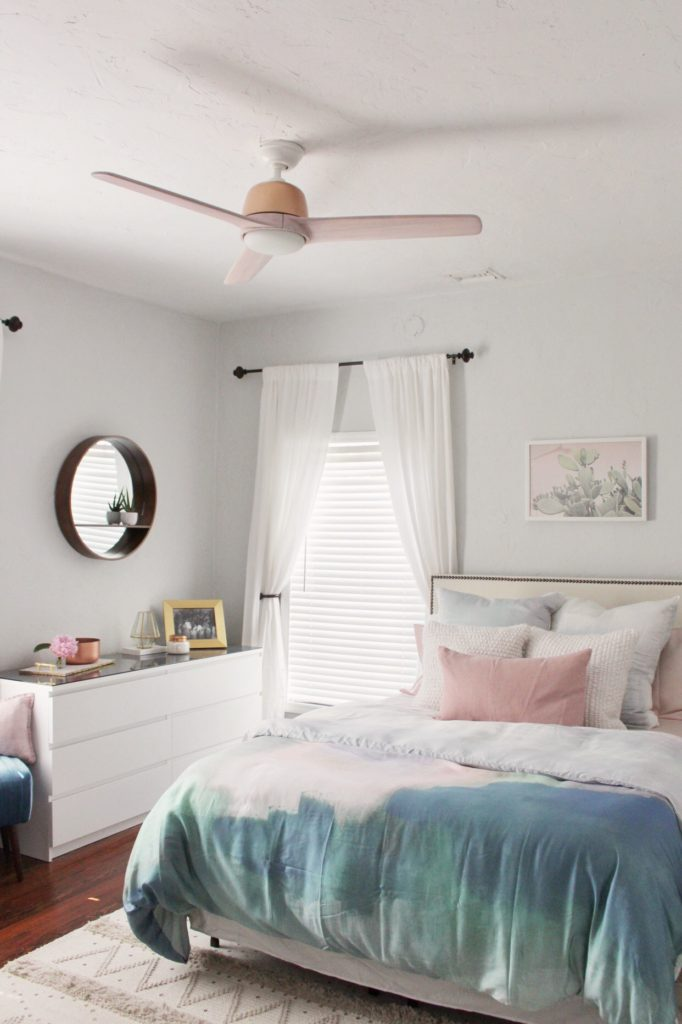 Pink Norden Fan by Hunter Fans