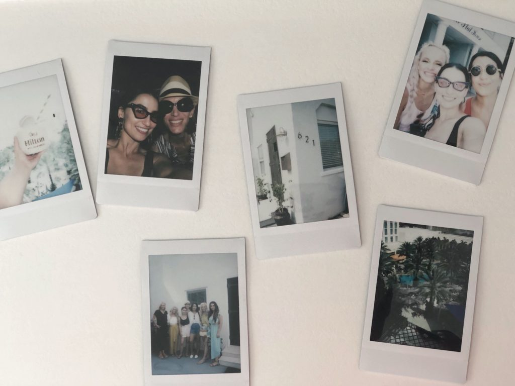 Polaroids of bloggers and Hunter fan trip!