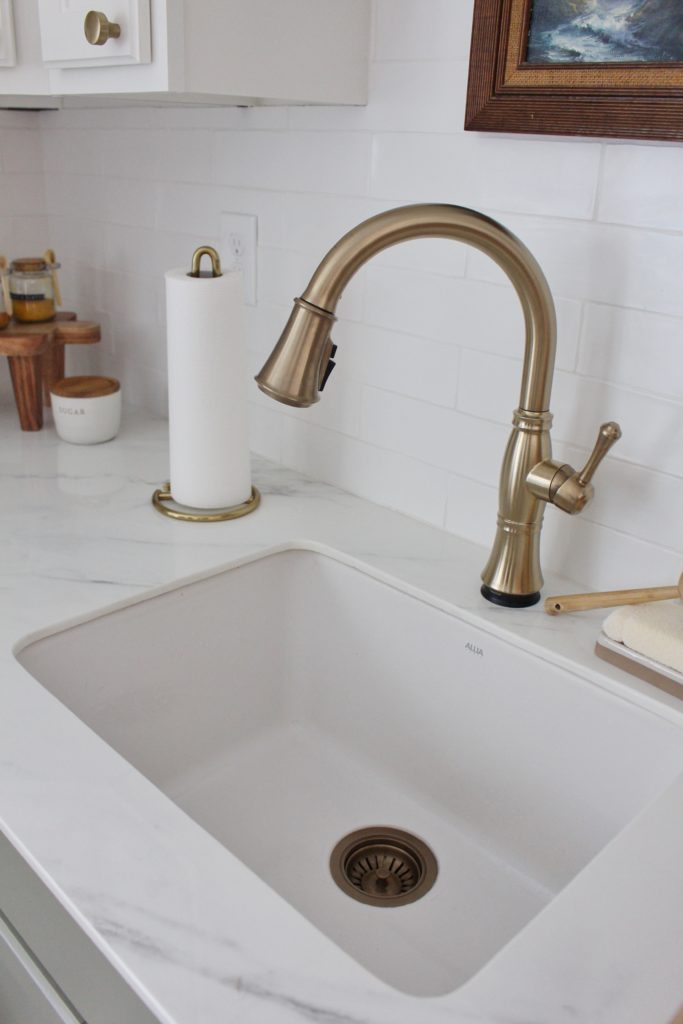 sink faucet and drain